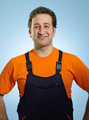 Repairman with a smile
