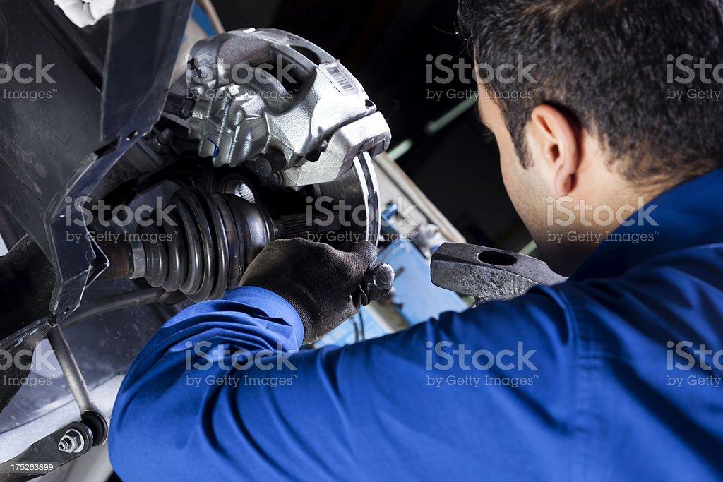 Repairman working royalty-free stock photo
