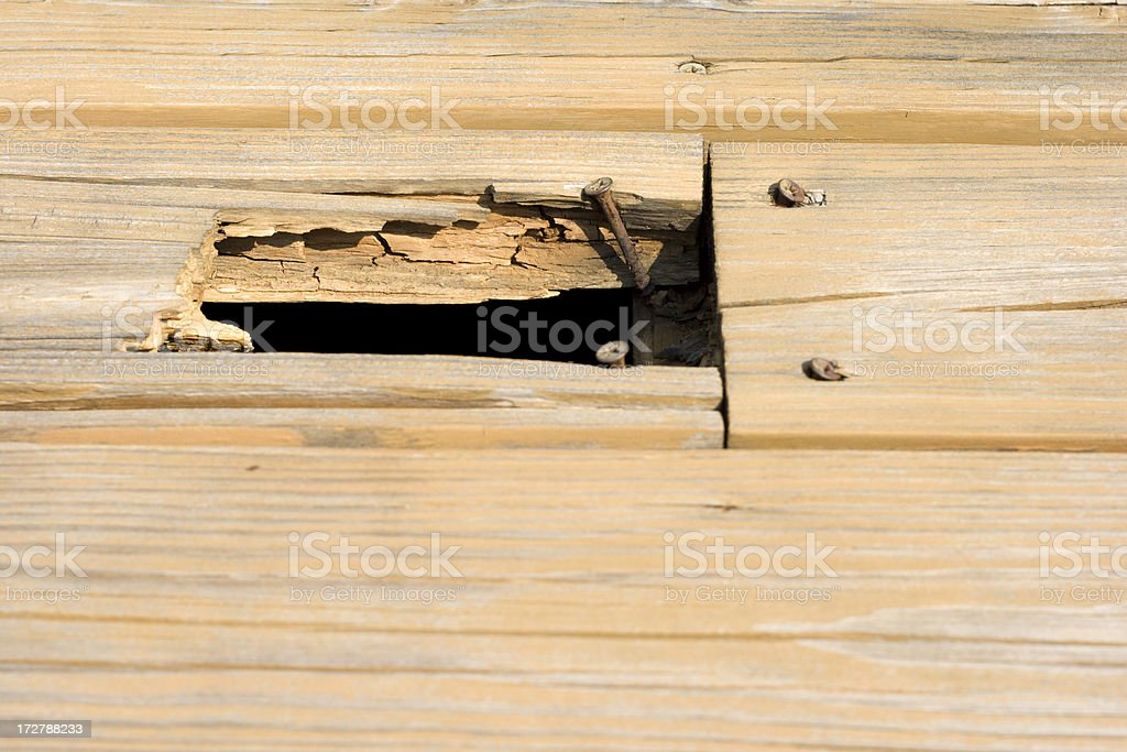 Repairs Needed stock photo