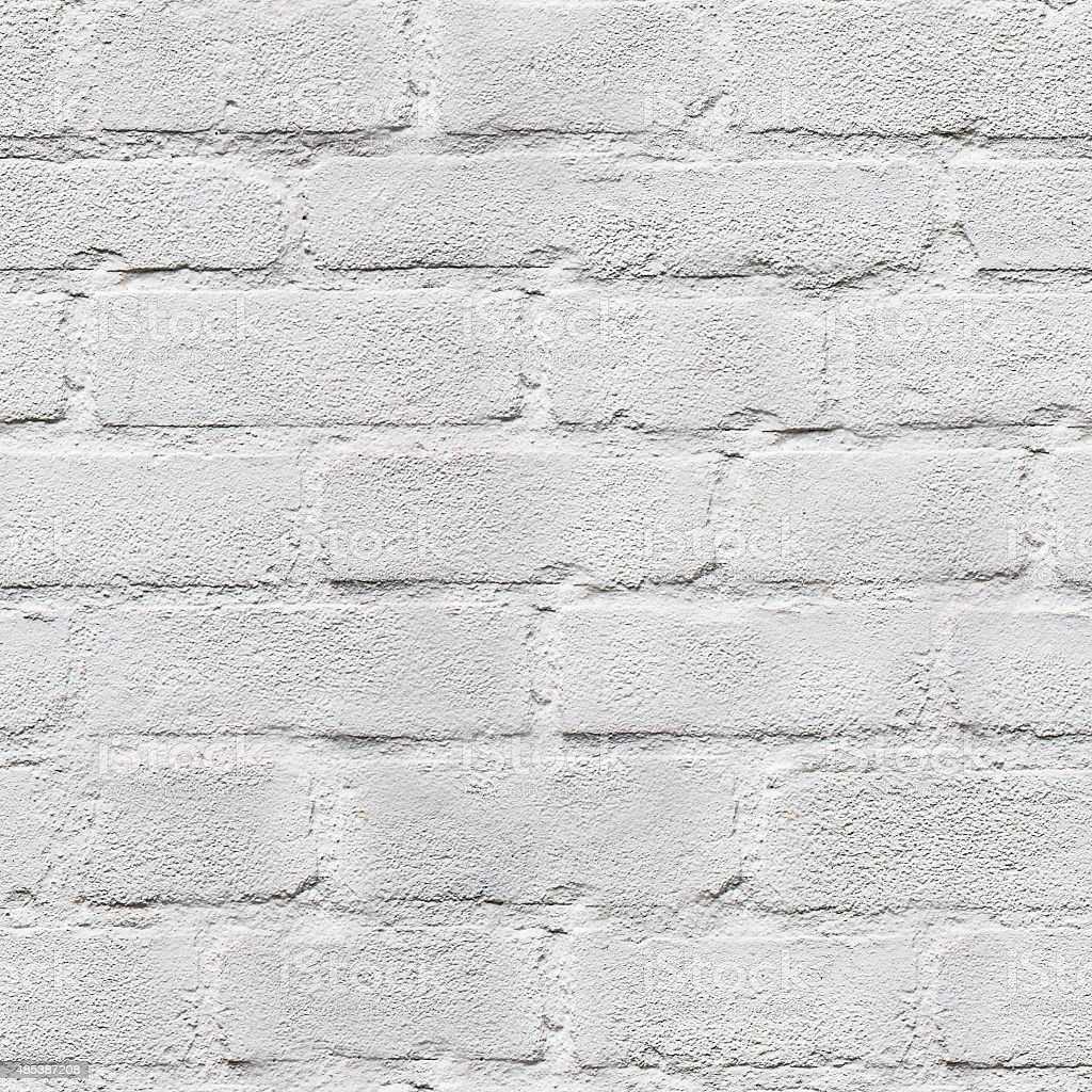 repeat tillable white brick texture stock photo