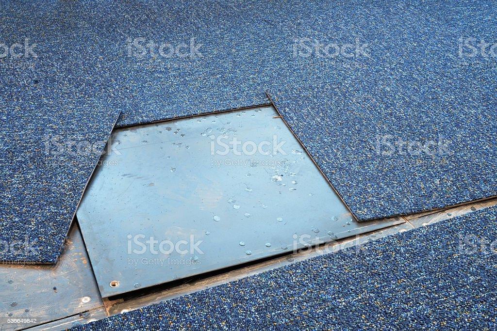 Replace Carpet stock photo