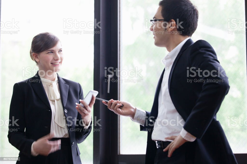 Replace the contact persons stock photo
