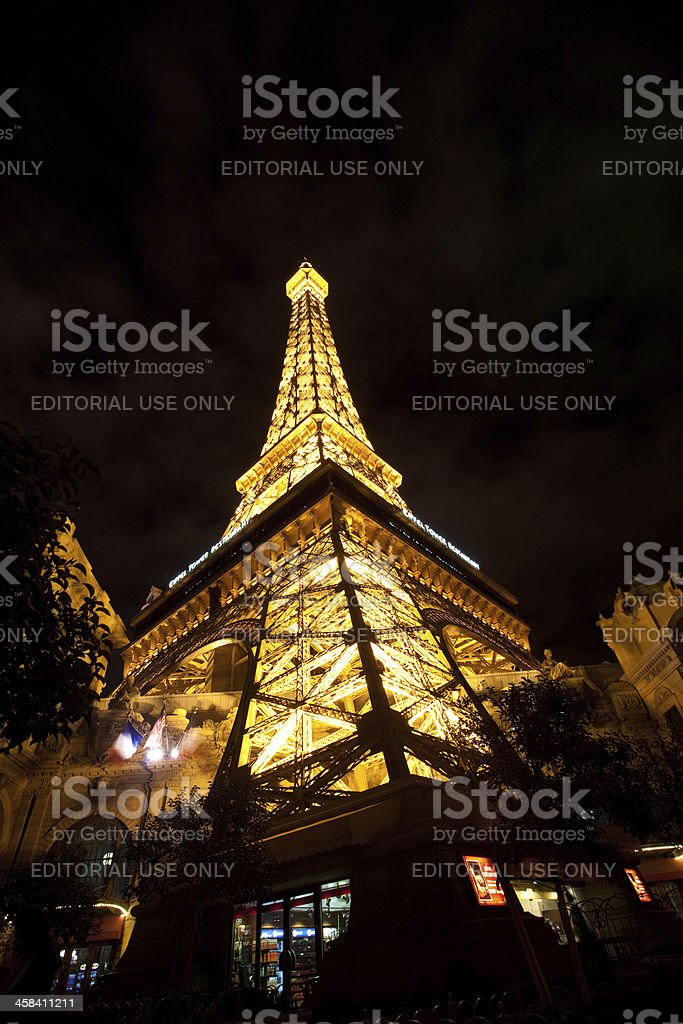 Replica Eiffel Tower royalty-free stock photo