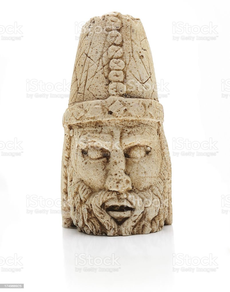 Replica head of God stock photo