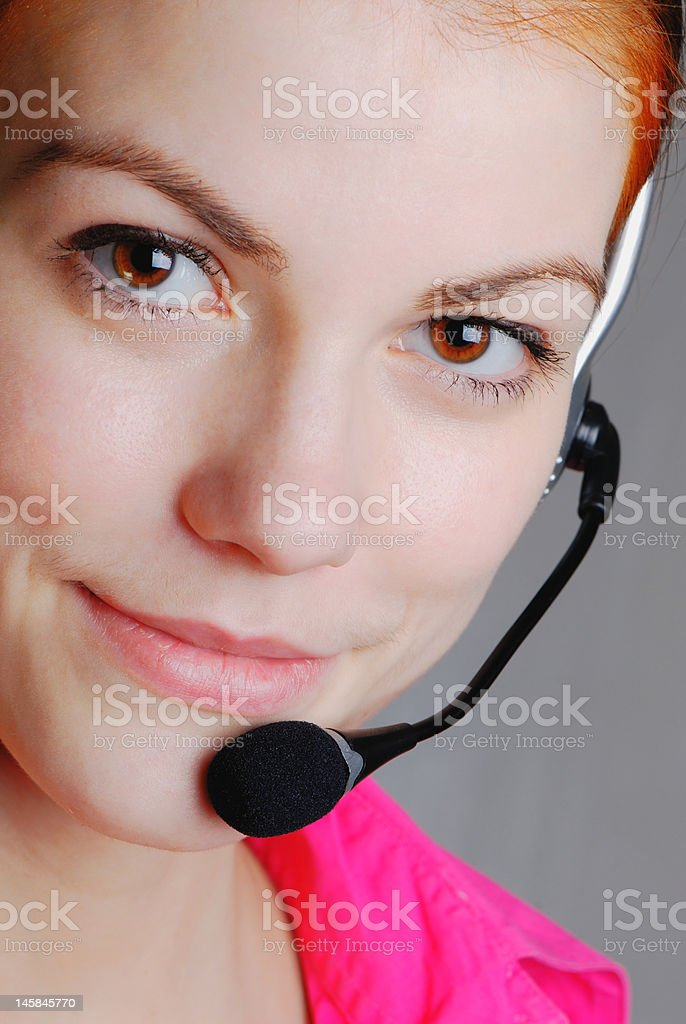 representative of client royalty-free stock photo