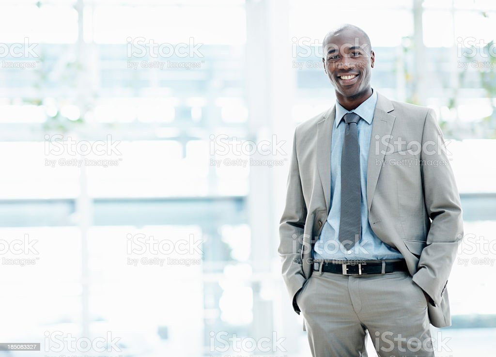Representative of the year - Copyspace royalty-free stock photo