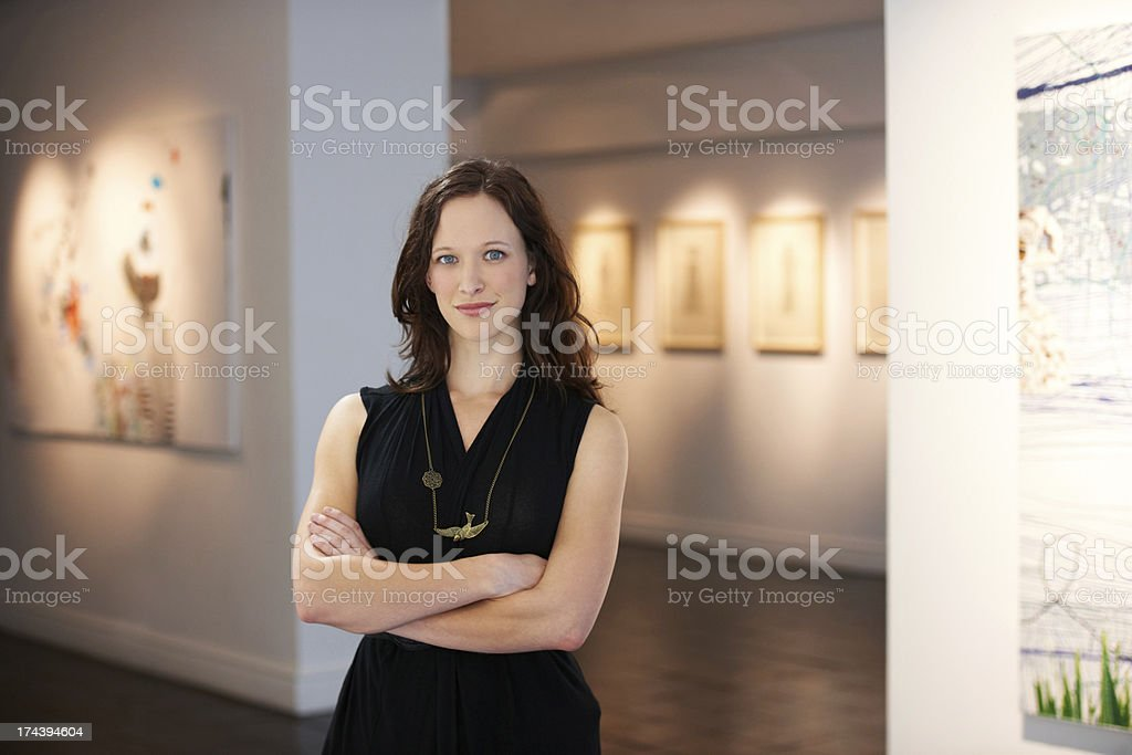 Representing the artists stock photo