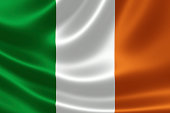 Republic of Ireland's National Flag