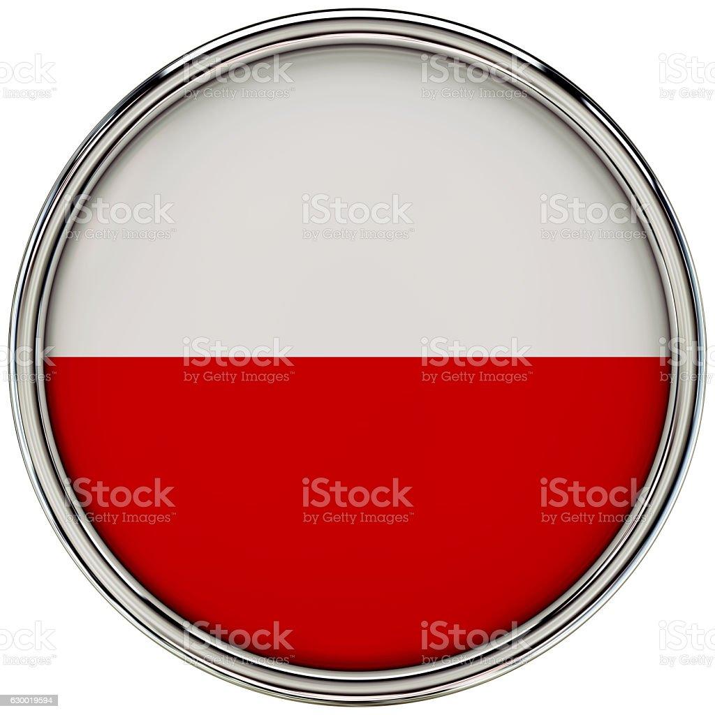 Republic of poland stock photo