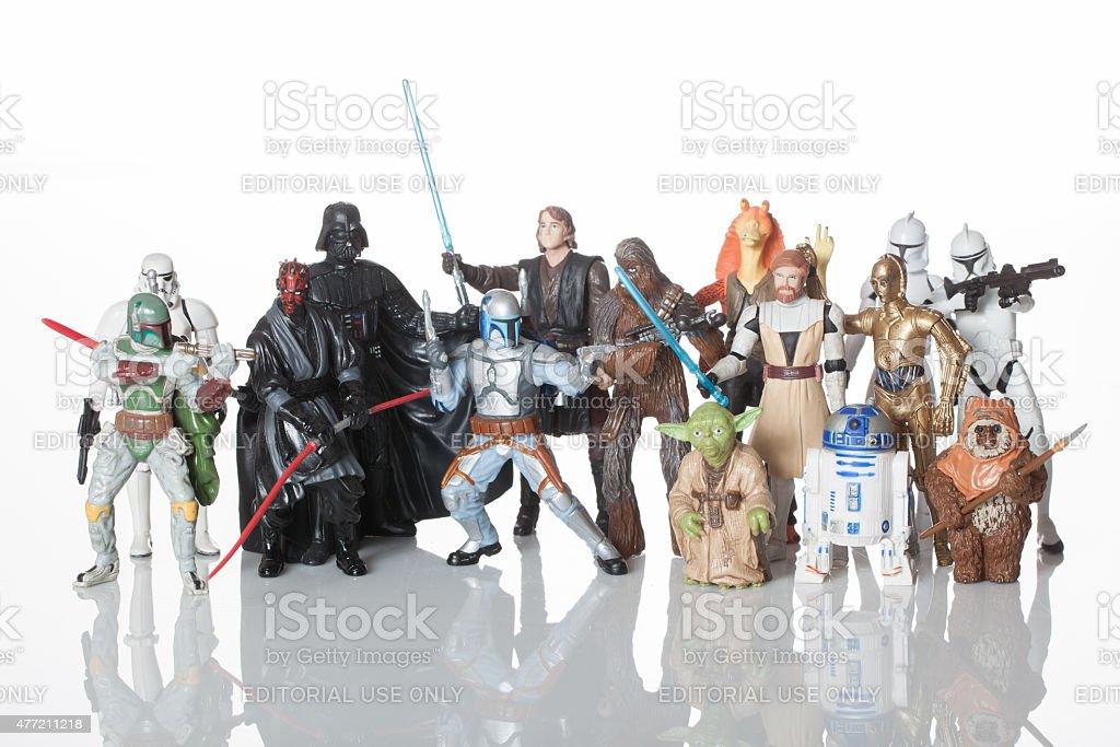 Republic vs Sith stock photo