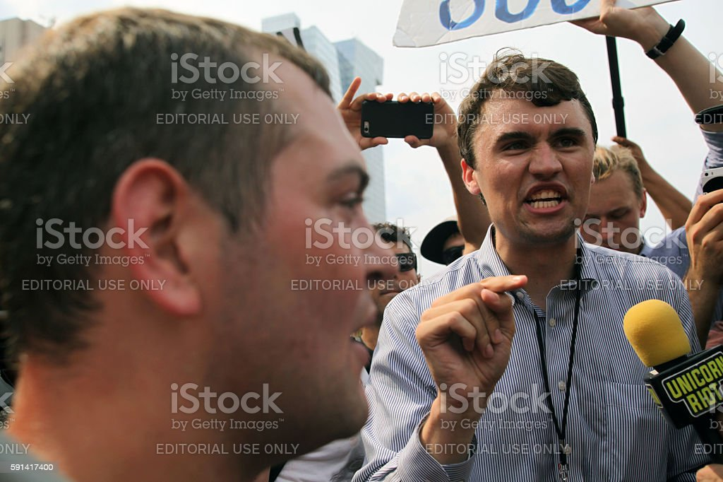 Republican National Convention, July 21, 2016 stock photo