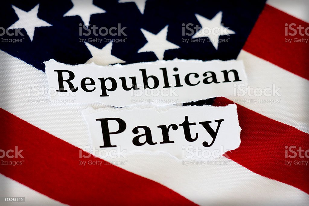Republican Party royalty-free stock photo