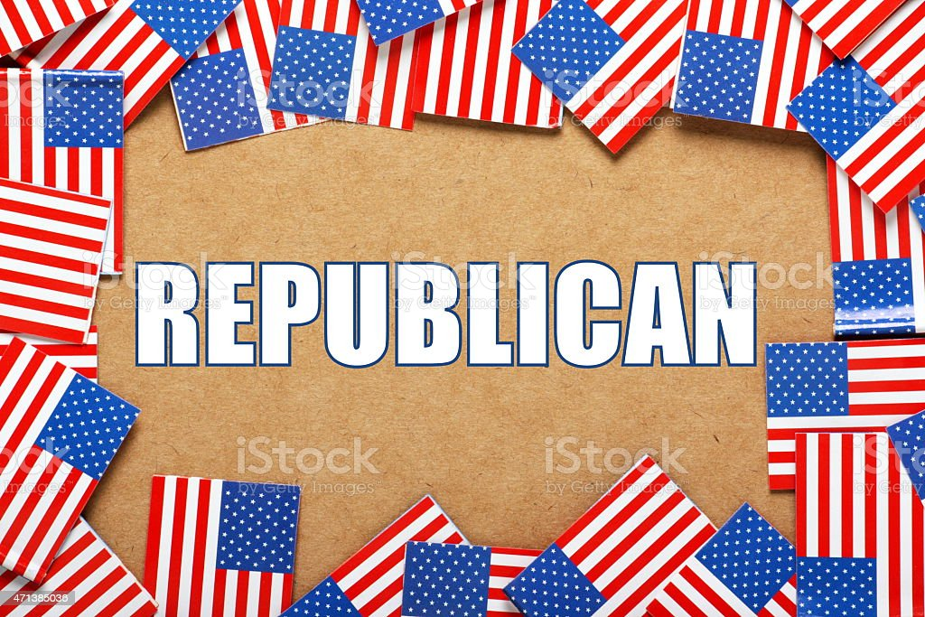 Republican Party stock photo