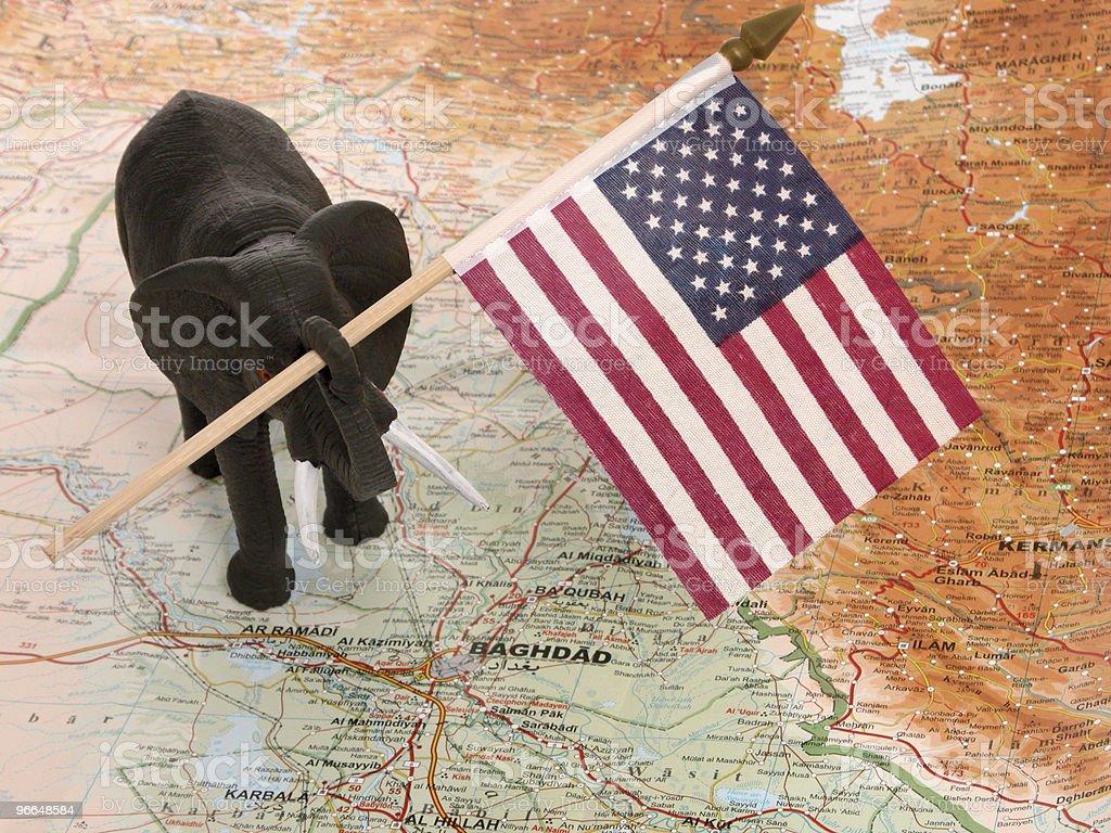 Republicans & Iraq royalty-free stock photo