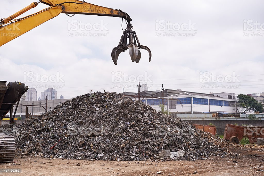 Re-purposing scrap stock photo