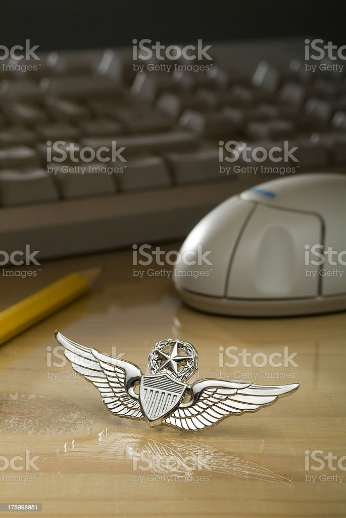 Request AF Wings Two royalty-free stock photo