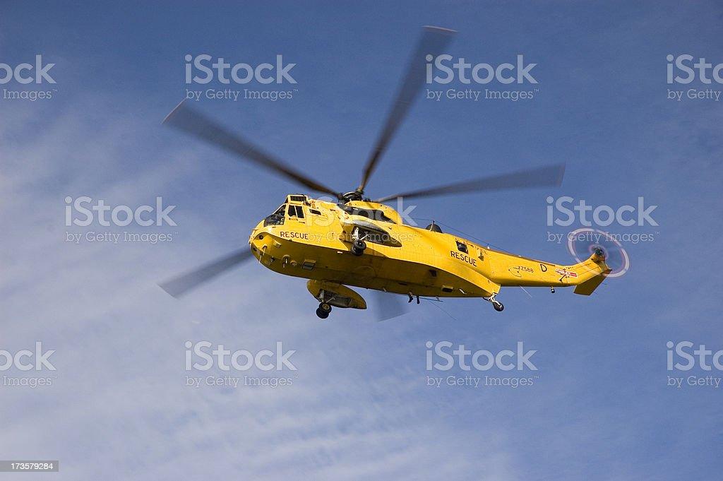 Rescue at sea stock photo