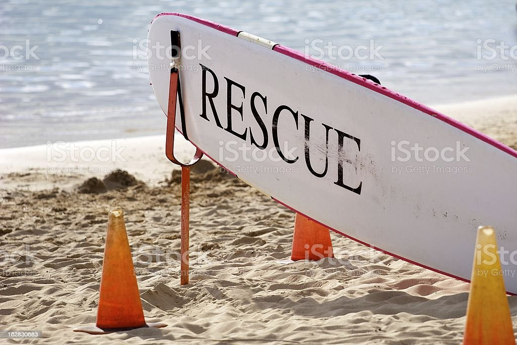 Rescue Board royalty-free stock photo