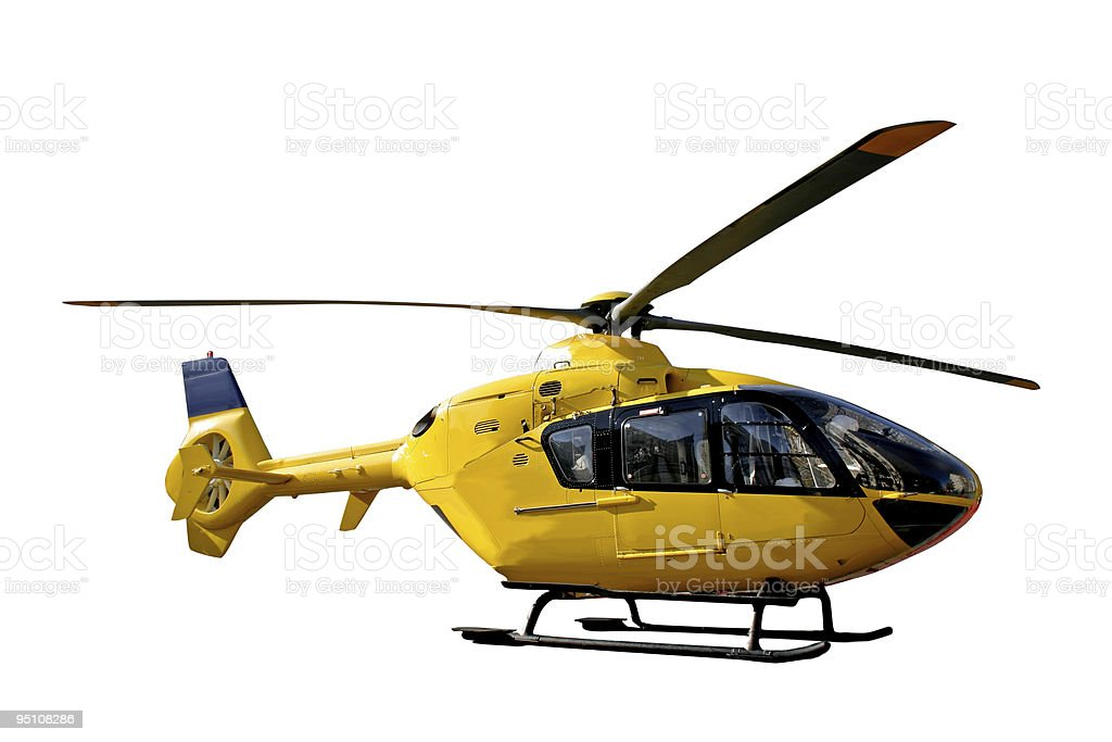 rescue copter stock photo