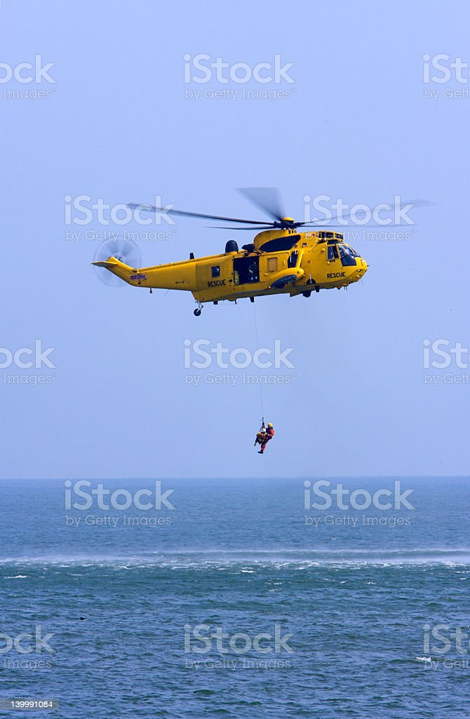 Rescue Helicopter #1 royalty-free stock photo