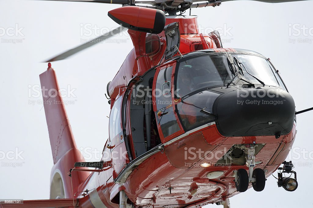 Rescue Helicopter royalty-free stock photo