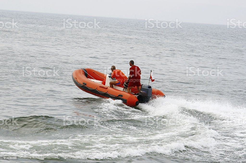 Rescue in action royalty-free stock photo