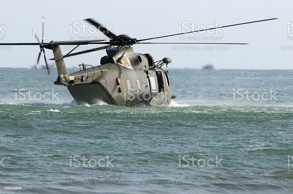 Rescue operation royalty-free stock photo