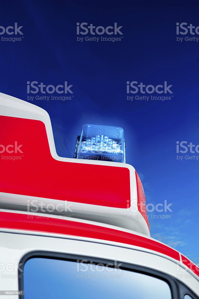 Rescue royalty-free stock photo