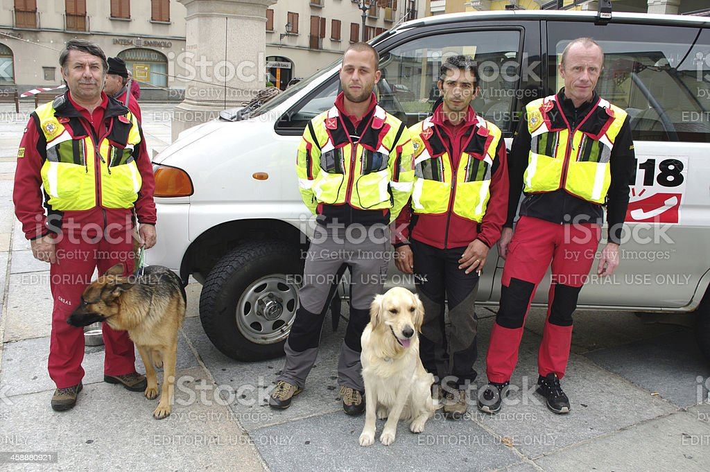 Rescue stock photo