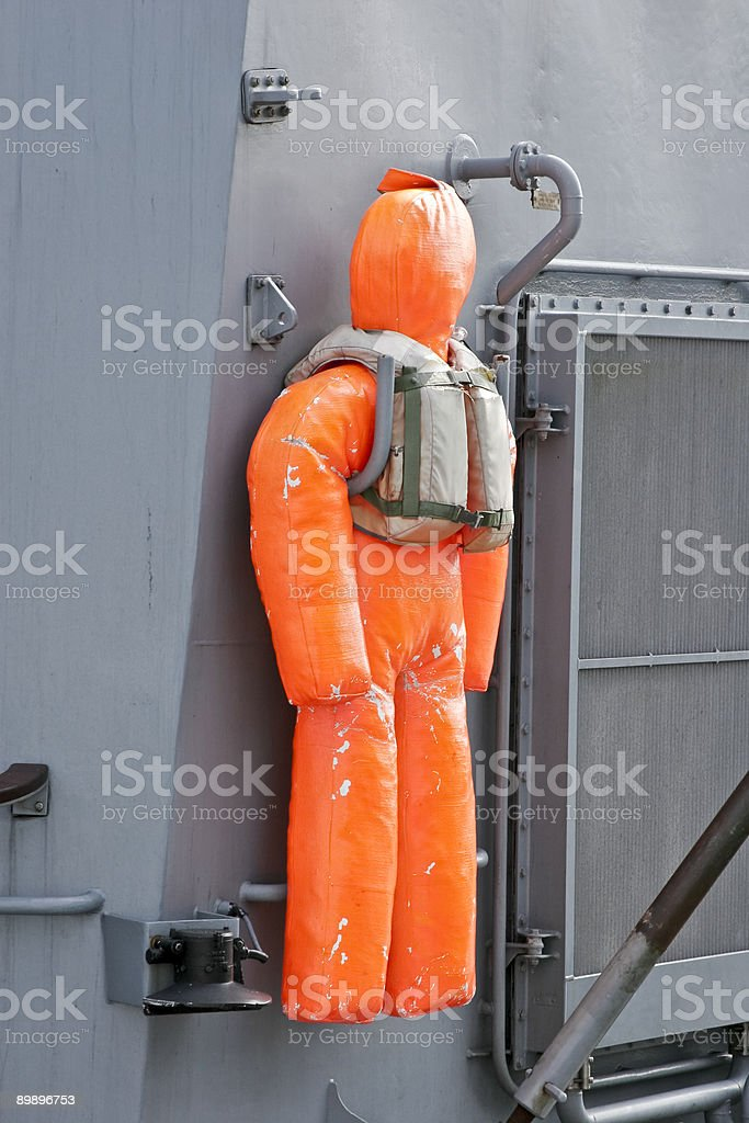 Rescue that dummy... royalty-free stock photo