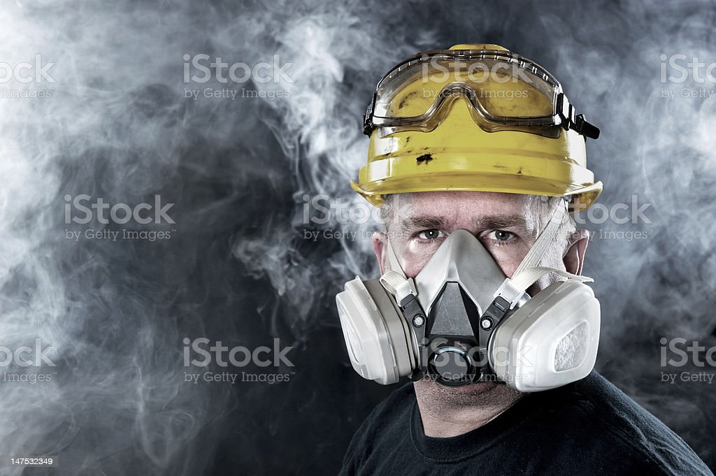 Rescue worker royalty-free stock photo