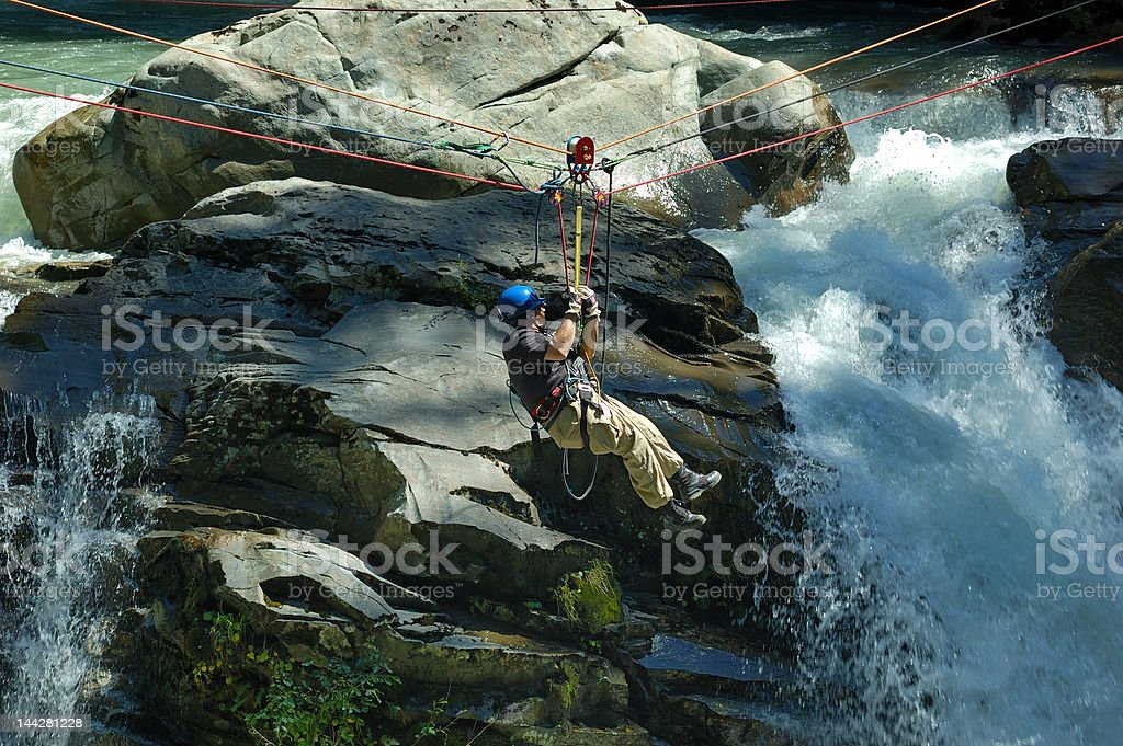 rescuer on duty royalty-free stock photo