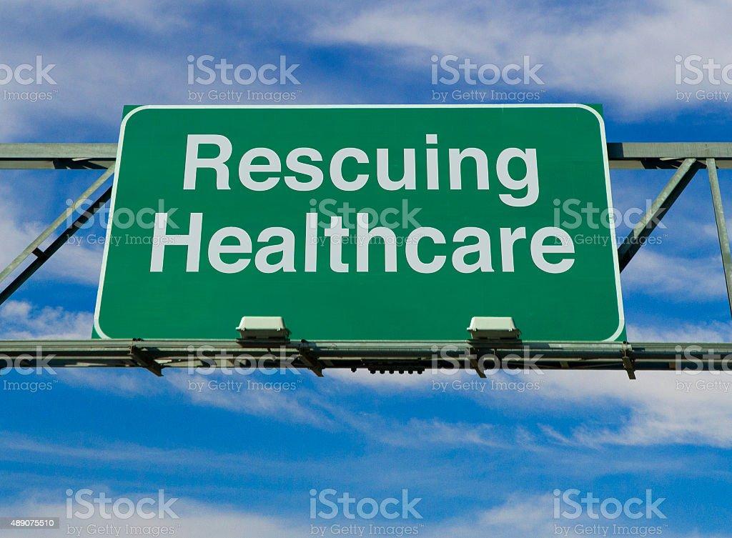 Rescuing Healthcare stock photo