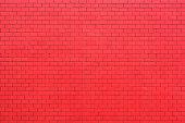Resd brick wall
