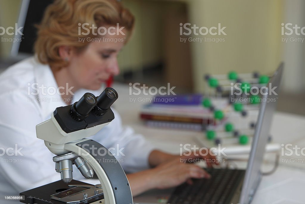Research Abstract royalty-free stock photo