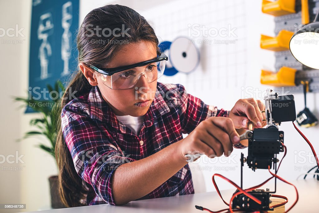 Research and development stock photo
