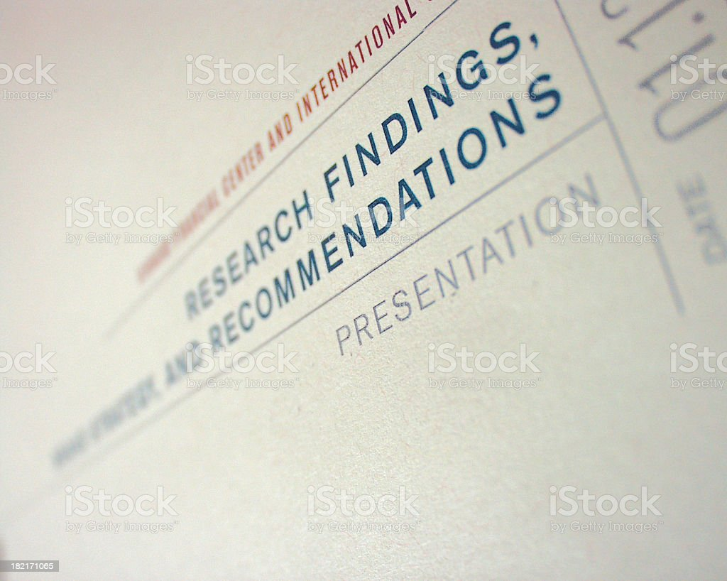 Research Detail royalty-free stock photo