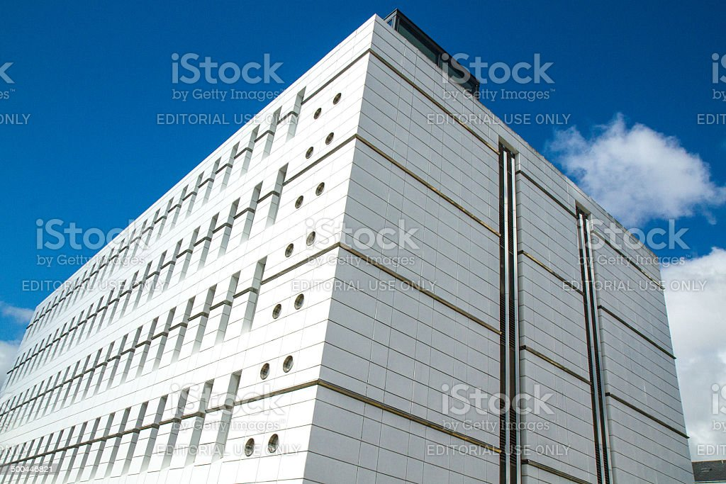 Research facility stock photo