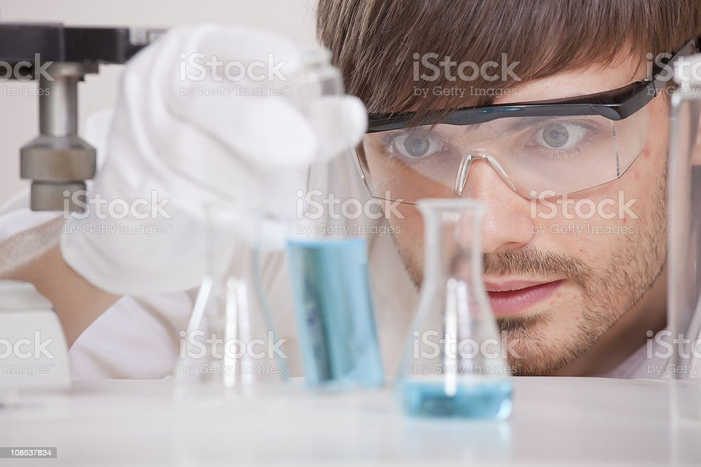research lab royalty-free stock photo