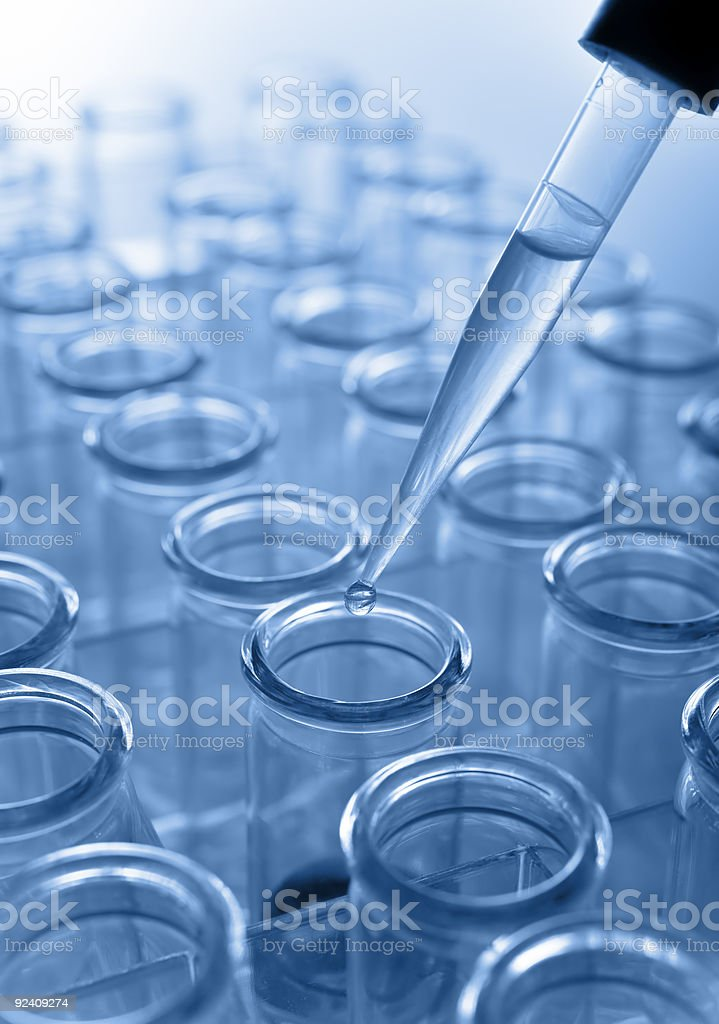 research lab stock photo