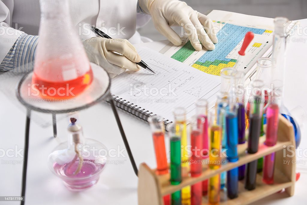 Research laboratory royalty-free stock photo