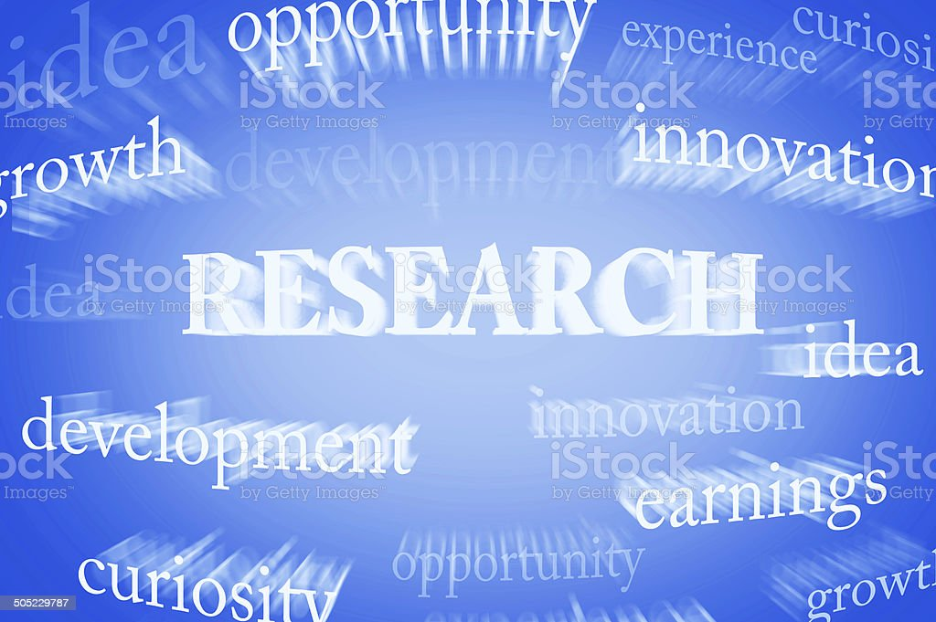 Research (Click for more) royalty-free stock photo