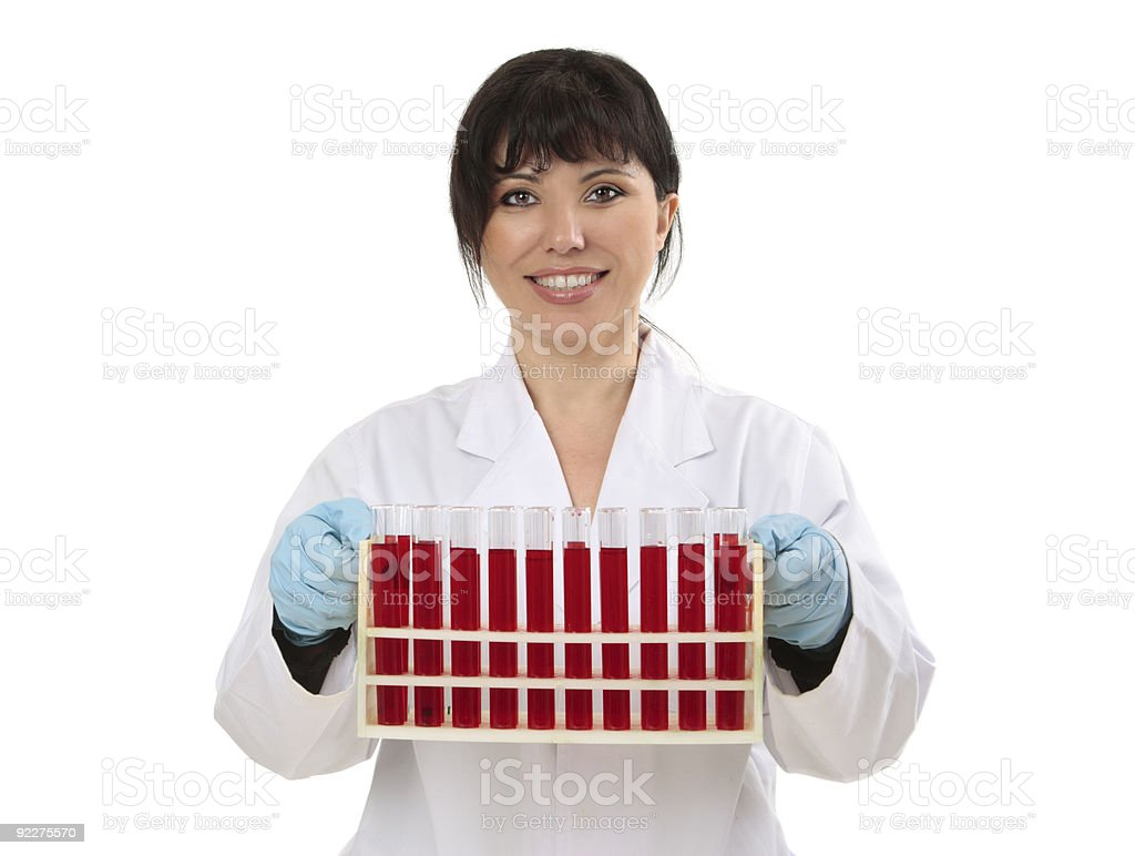 Research scientist royalty-free stock photo