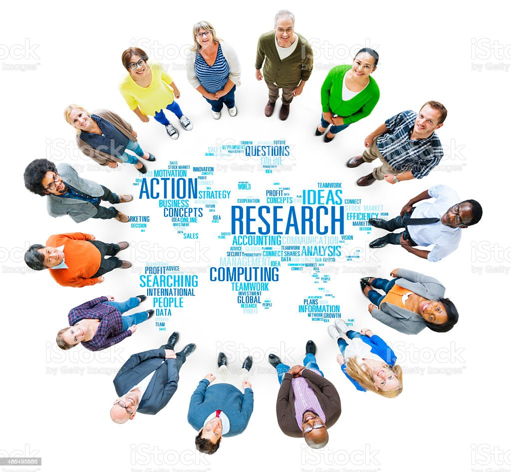 Research Study Report Response Result Action Concept stock photo