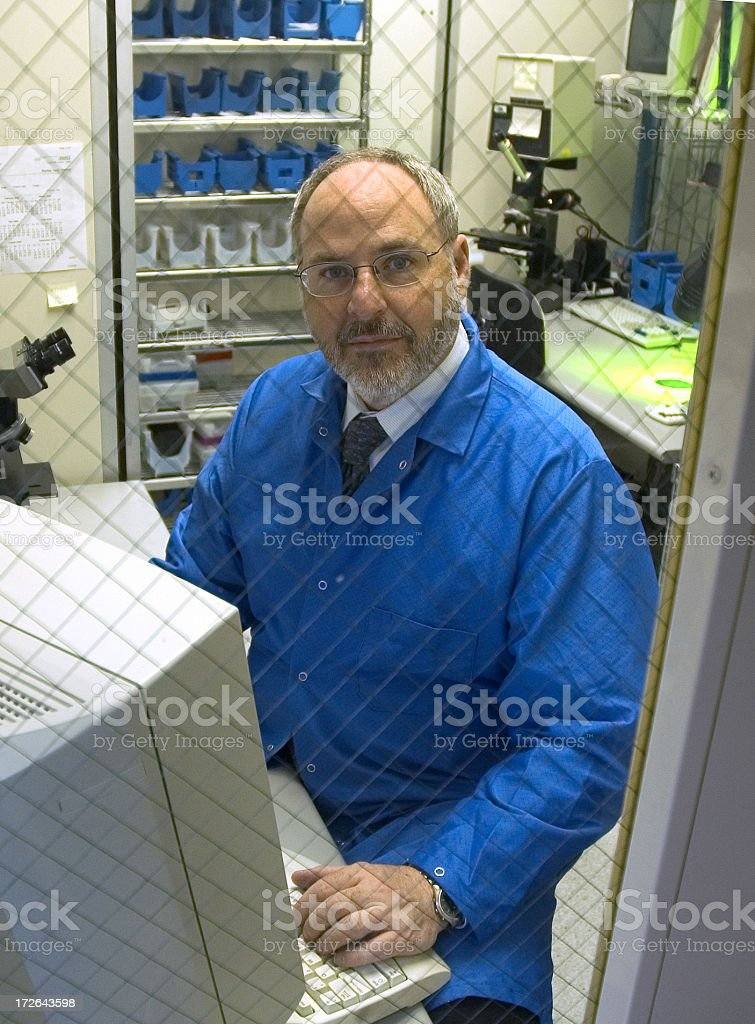 Research Technician royalty-free stock photo