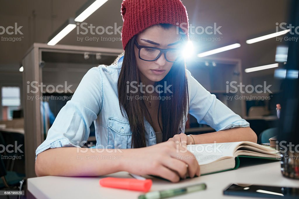 researching for new projects stock photo