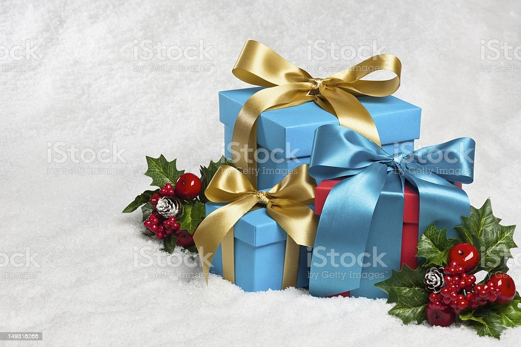 resent in festive decoration royalty-free stock photo