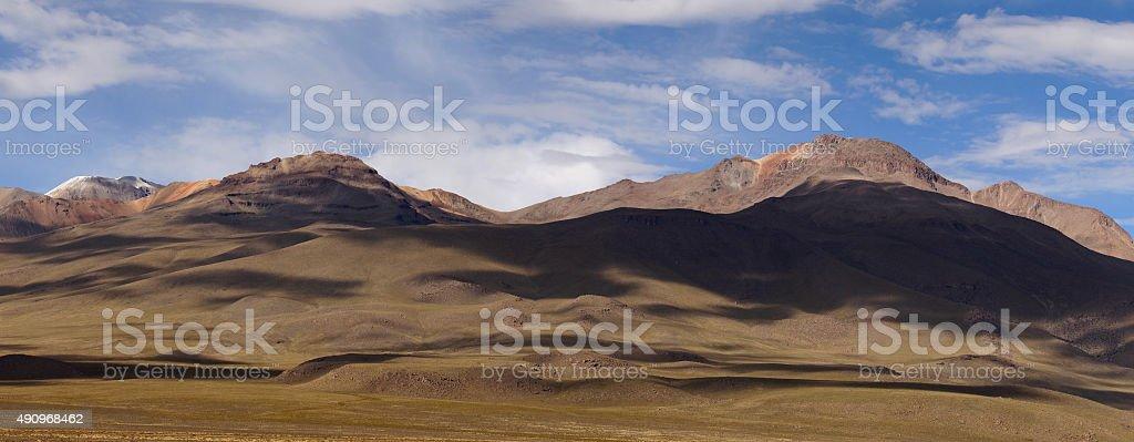 Reserva Nacional Salinas y Aguada Blanca stock photo