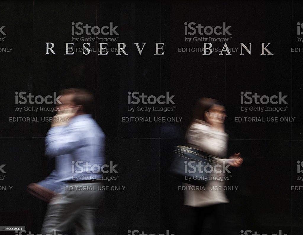 Reserve Bank of Australia stock photo