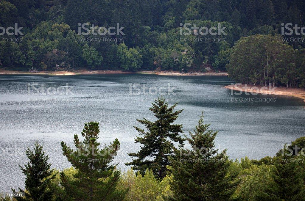 Reservoir royalty-free stock photo